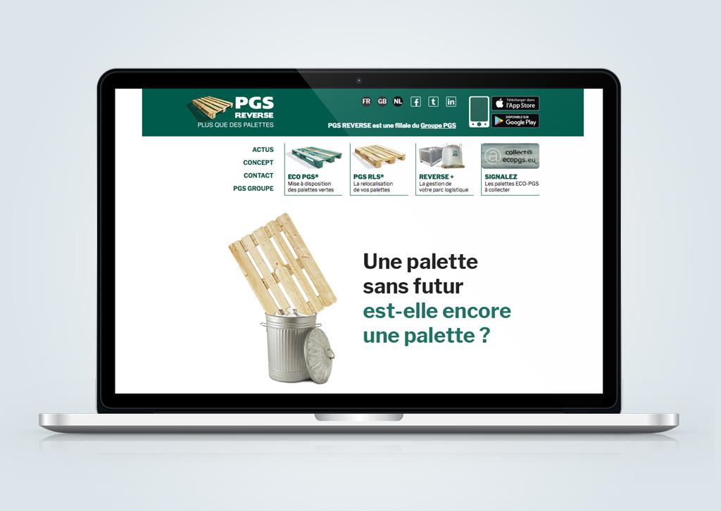 Agence de communication A Tribu Le Mans 72 Sarthe Pays-de-la-Loire — Site Web PGS reverse