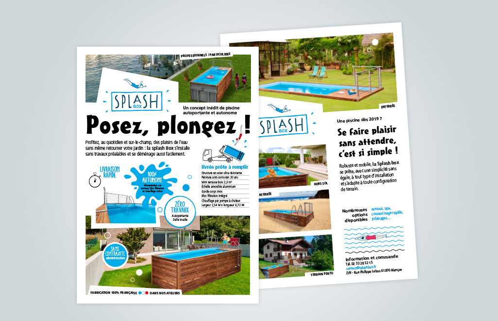 Agence de communication A Tribu Le Mans 72 Sarthe Pays-de-la-Loire — Splash Box mailing