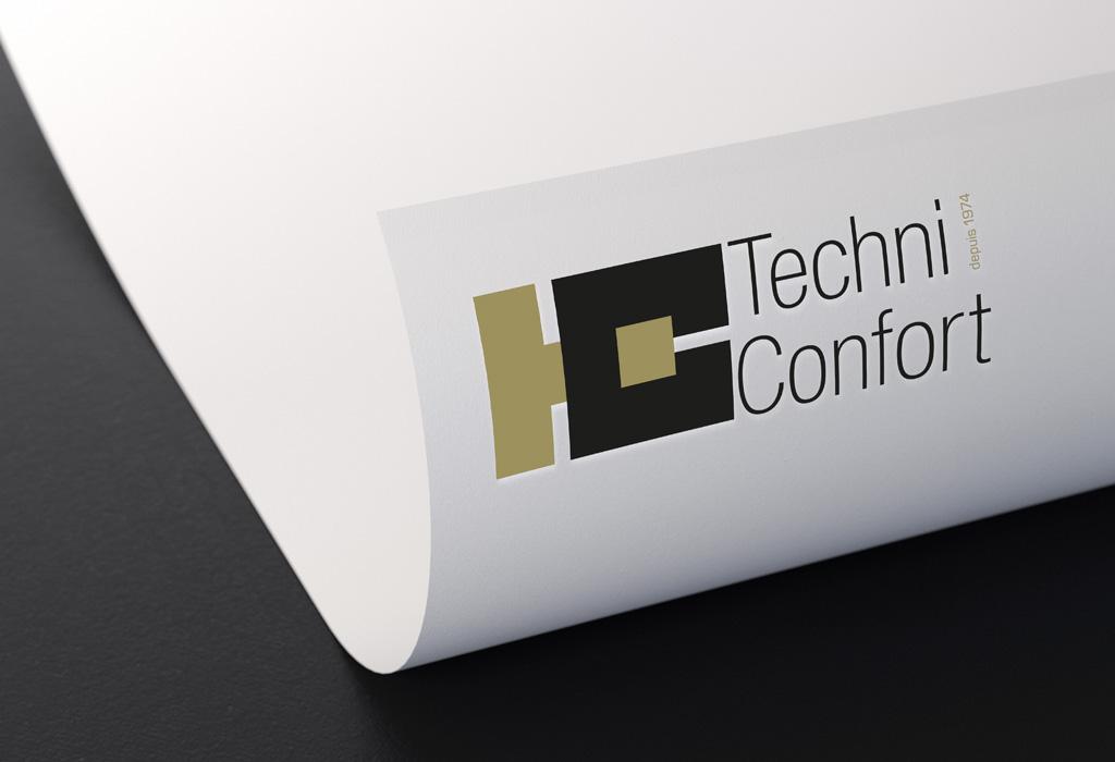 Agence de communication A Tribu Le Mans 72 Sarthe Pays-de-la-Loire — Techni-Confort logo