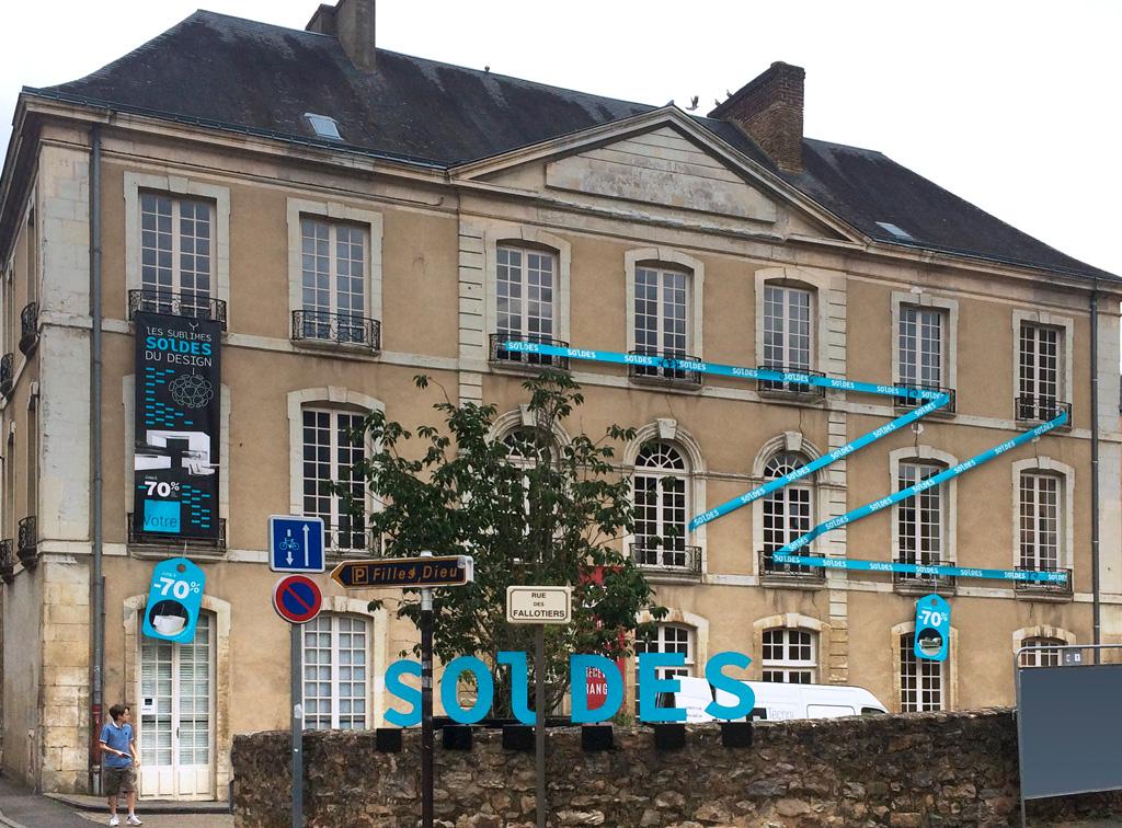 Agence de communication A Tribu Le Mans 72 Sarthe Pays-de-la-Loire — Vôtre concepteur d'aménagements intérieurs habillage bâtiment